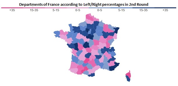 French Municipal Elections Second Round Results Metapolls - Sweden election map